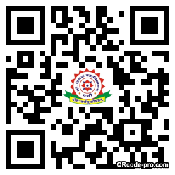 QR code with logo 34DX0