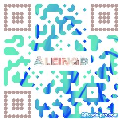 QR code with logo 34EM0