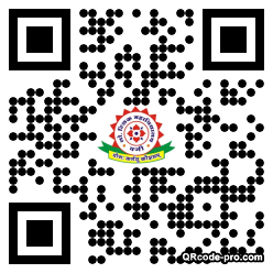 QR code with logo 34Eh0