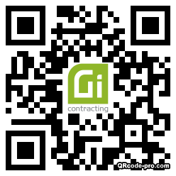 QR code with logo 34Ff0