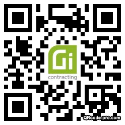 QR code with logo 34Fj0
