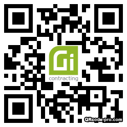 QR code with logo 34Fr0