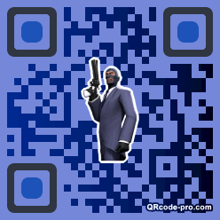 QR code with logo 34GE0