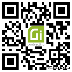 QR code with logo 34HF0