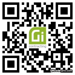 QR code with logo 34HW0