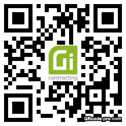 QR code with logo 34Hh0