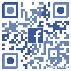 QR code with logo 34Hm0