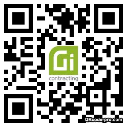 QR code with logo 34Hn0