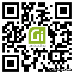 QR code with logo 34Il0