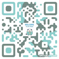 QR code with logo 34JN0