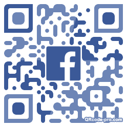 QR code with logo 34KD0