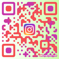 QR code with logo 34ME0