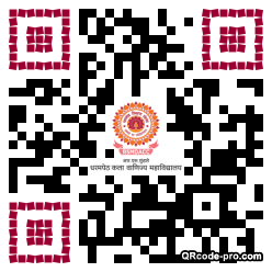 QR code with logo 34MR0