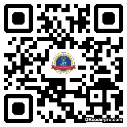 QR code with logo 34MS0