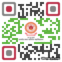 QR code with logo 34Mm0