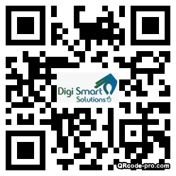 QR code with logo 34Mn0
