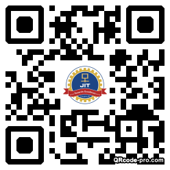 QR code with logo 34NO0