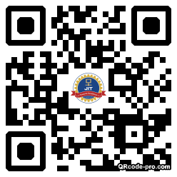 QR code with logo 34Nb0