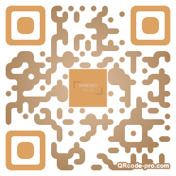 QR code with logo 34Or0
