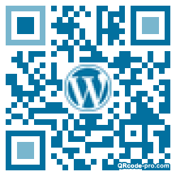 QR code with logo 34PN0
