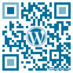 QR code with logo 34PX0