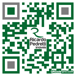 QR code with logo 34Pm0