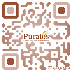 QR code with logo 34R20