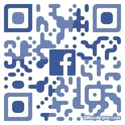 QR code with logo 34Rp0