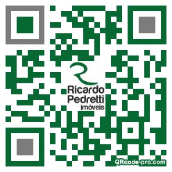 QR code with logo 34Rv0