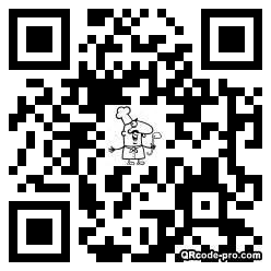 QR code with logo 34Sp0