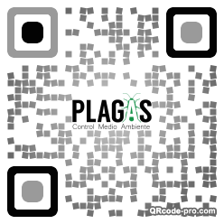 QR code with logo 34Sw0
