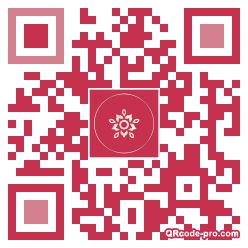 QR code with logo 34Sy0