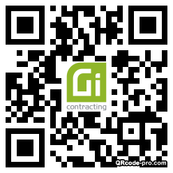 QR code with logo 34TN0