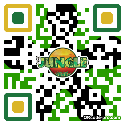 QR code with logo 34UP0
