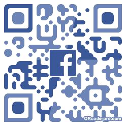 QR code with logo 34W60