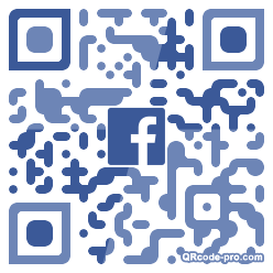 QR code with logo 34Xy0