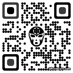 QR code with logo 34Z80