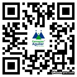 QR code with logo 34Zh0