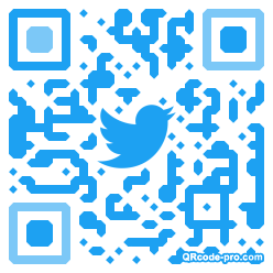 QR code with logo 34aS0