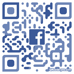 QR code with logo 34aT0