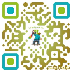 QR code with logo 34er0