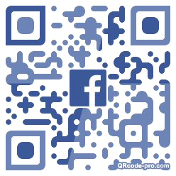 QR code with logo 34hQ0