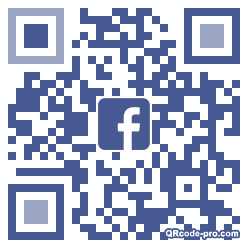 QR code with logo 34nj0