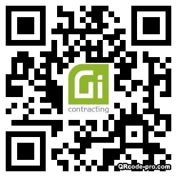 QR code with logo 34p10