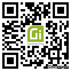 QR code with logo 34p30