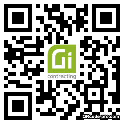QR code with logo 34pA0