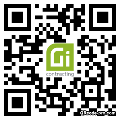 QR code with logo 34pD0