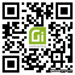 QR code with logo 34pp0