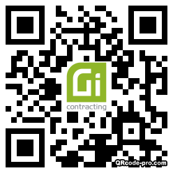 QR code with logo 34r10