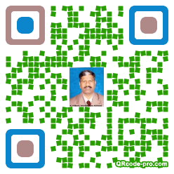 QR code with logo 34r70